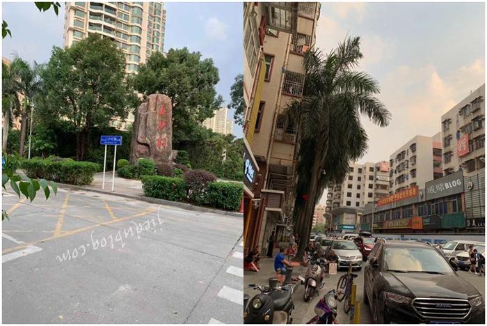 深圳福田区上沙村到处拆楼 拆不掉一些人的记忆